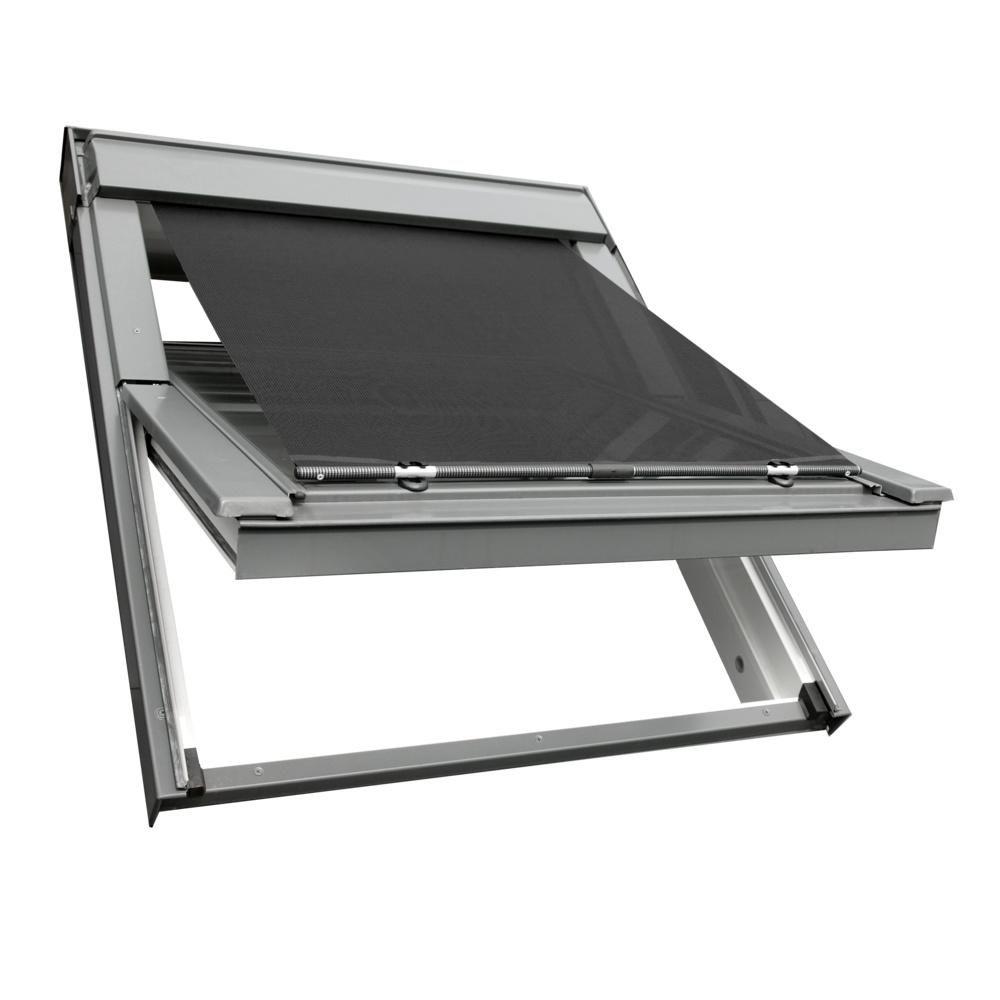 hitzeschutz markise f r velux dachfenster ggl ggu ghl aussenrollo fenstermarkise ebay. Black Bedroom Furniture Sets. Home Design Ideas