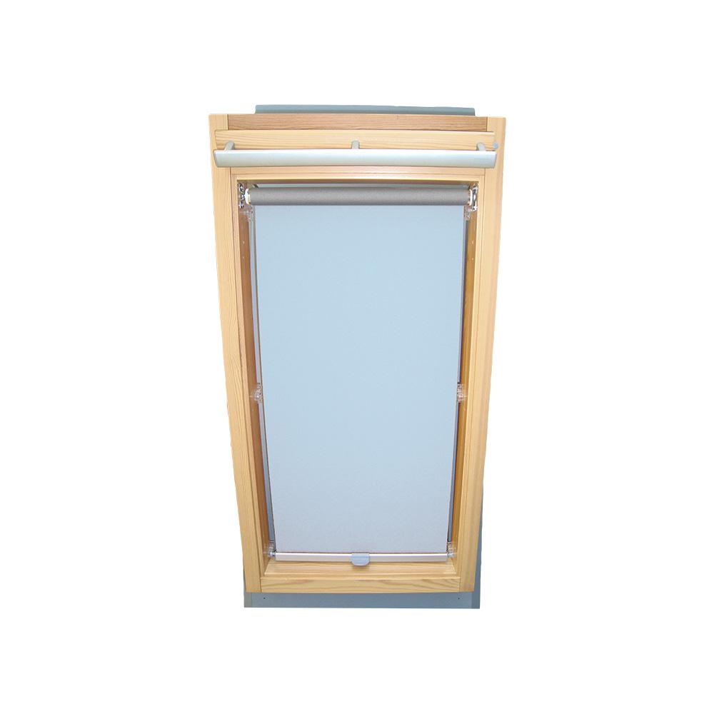 rollo abdunkelung thermo f r roto dachfenster wdf 310 319 320 329 hellblau ebay. Black Bedroom Furniture Sets. Home Design Ideas