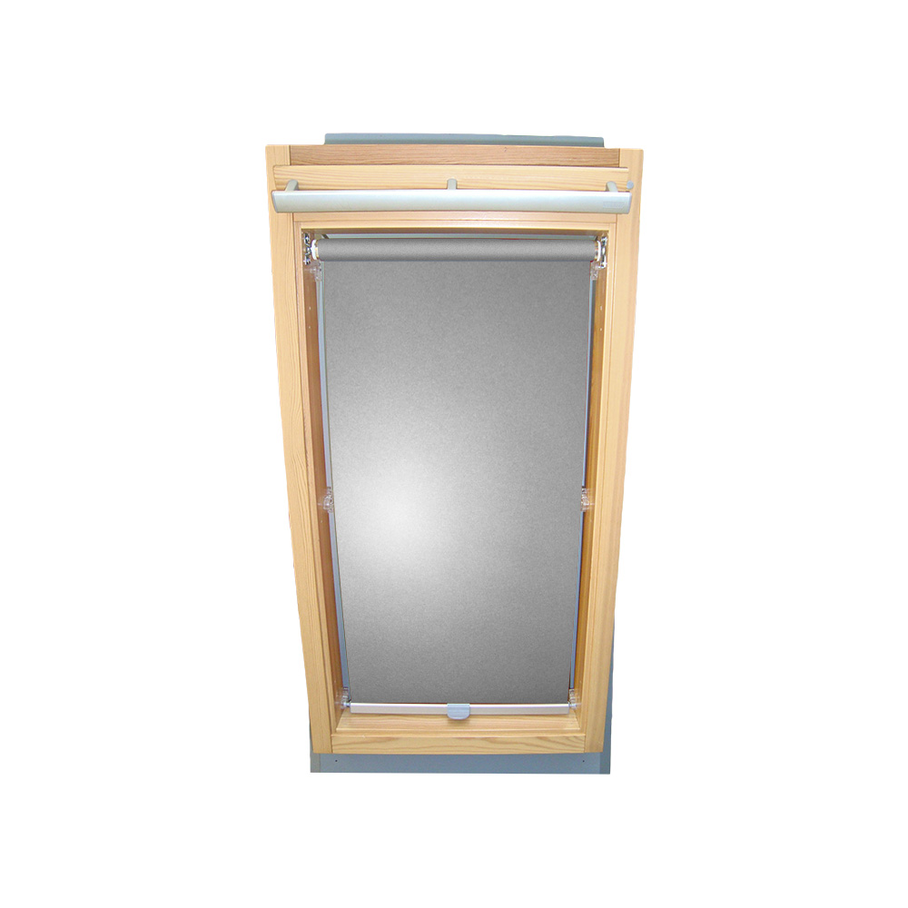 abdunkelungsrollo alu thermo f r velux dachfenster ggl gpl ghl silber grau ebay. Black Bedroom Furniture Sets. Home Design Ideas