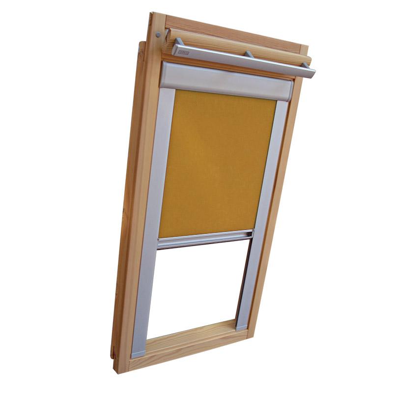 dachfensterrollo verdunkelung f r velux dachfenster ve vk. Black Bedroom Furniture Sets. Home Design Ideas