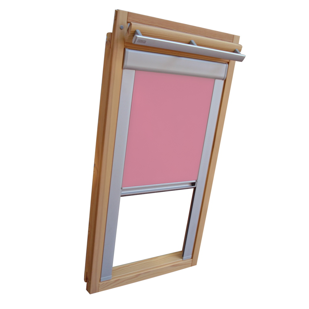verdunkelungsrollo alu thermo f r velux dachfenster ggl gpl ghl rosa ebay. Black Bedroom Furniture Sets. Home Design Ideas
