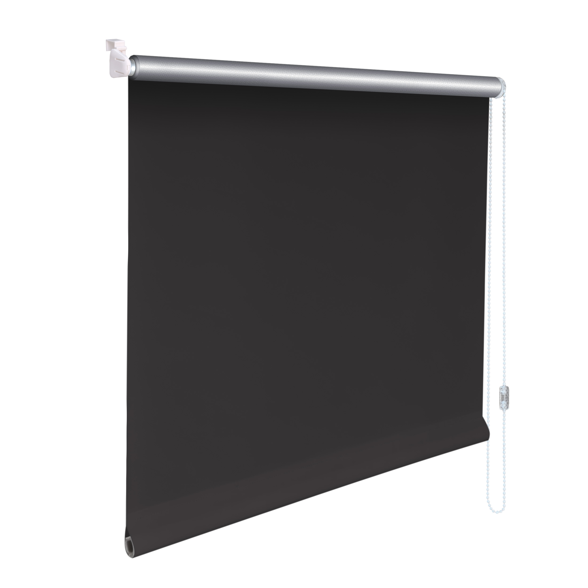 mini rollo klemmfix alu thermo klemmrollo verdunkelung h he 160 cm dunkelgrau ebay. Black Bedroom Furniture Sets. Home Design Ideas