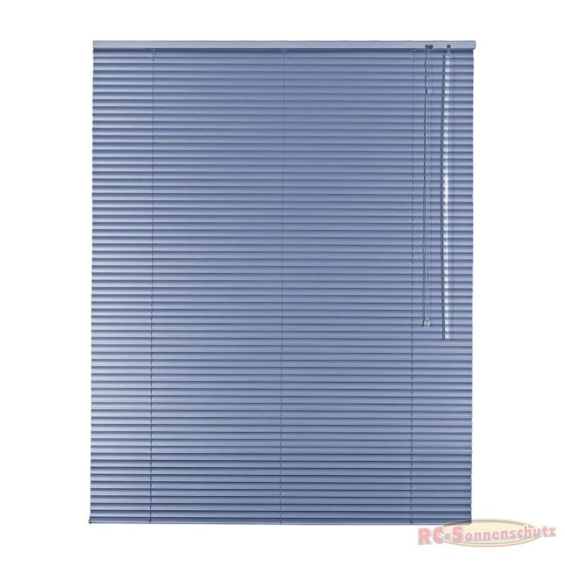 Alu-Aluminium Jalousie Jalousette 100 x 175 cm / 100x175 cm Farbe grau-blau
