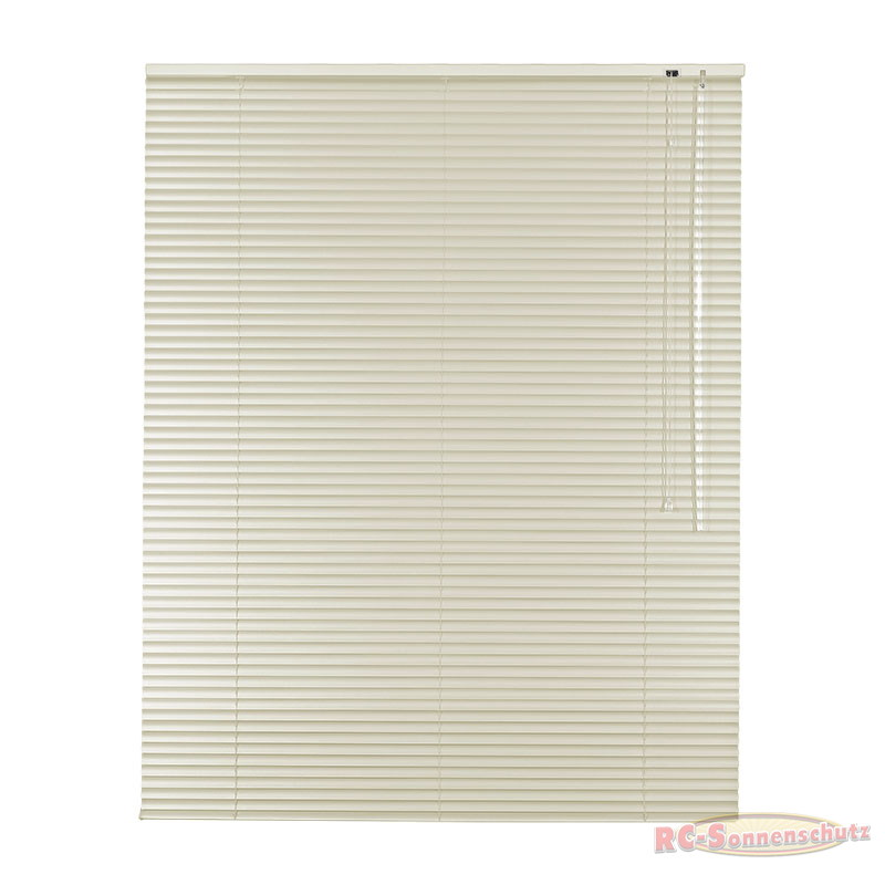 Alu-Aluminium Jalousie Rollo Jalousette 100 x 175 cm / 100x175 cm Farbe creme