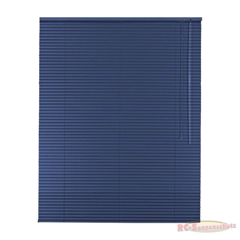Alu-Aluminium Jalousie Jalousette 100 x 175 cm / 100x175 cm Farbe mittelblau