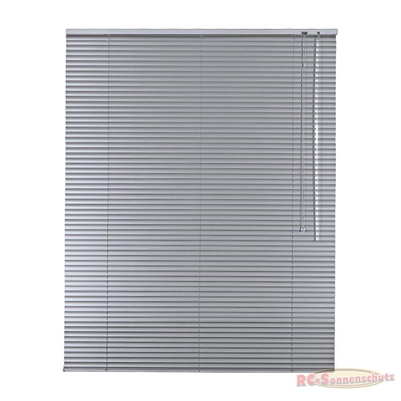 Alu-Aluminium Jalousie Rollo Jalousette 100 x 175 cm / 100x175 cm Farbe silber