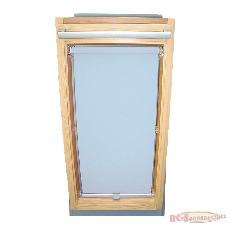 Abdunkelungsrollo Rollo für Braas Holz Typ BK+BL 100/110 hellblau