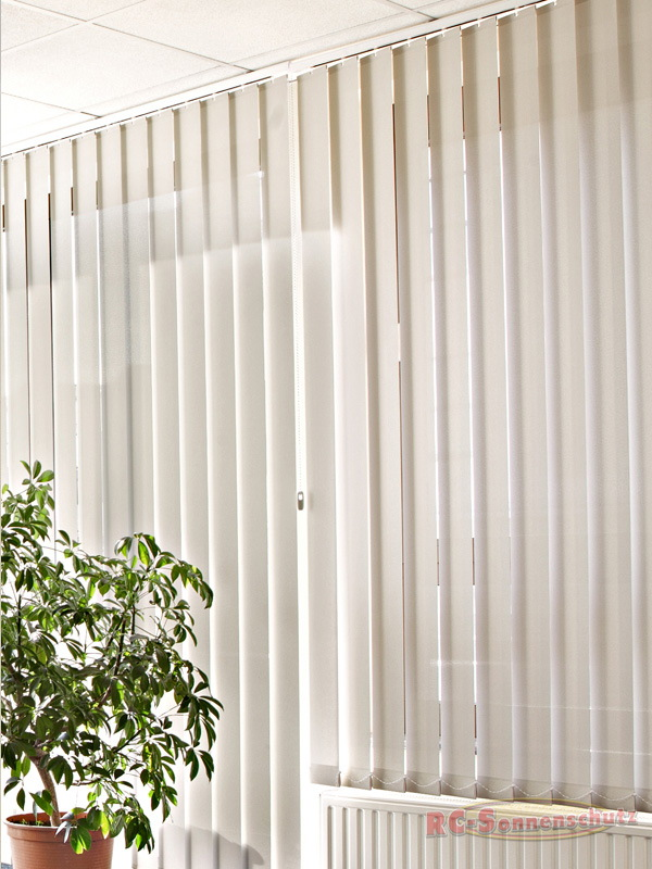 Vertikal Lamellen-Vorhang-Lamellenvorhang 89mm 127mm