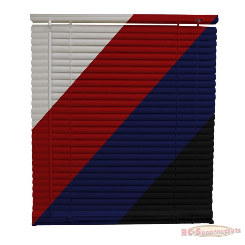 PVC Jalousie Jalousien Jalousette in Farbe weiss, rot, dunkelblau oder schwarz