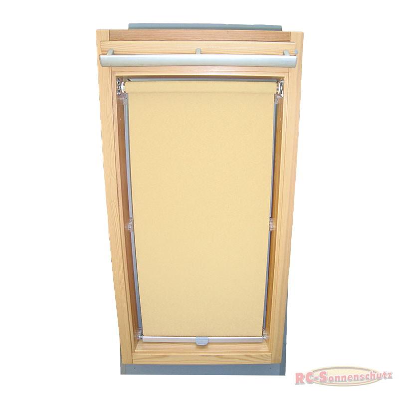 Sichtschutzrollo Rollo für Rooflite C2A 55x78 creme