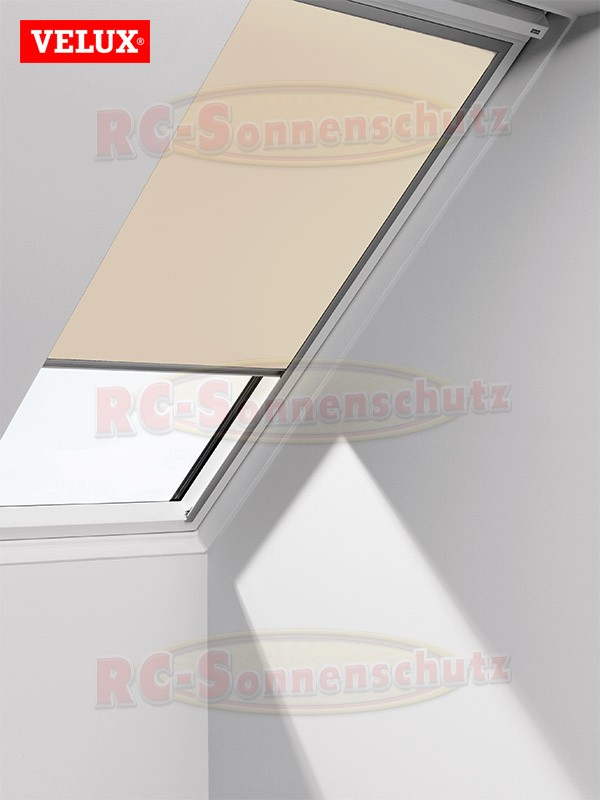 original velux verdunkelungs rollo f r vl vf vt dg 085 1085s creme ebay. Black Bedroom Furniture Sets. Home Design Ideas