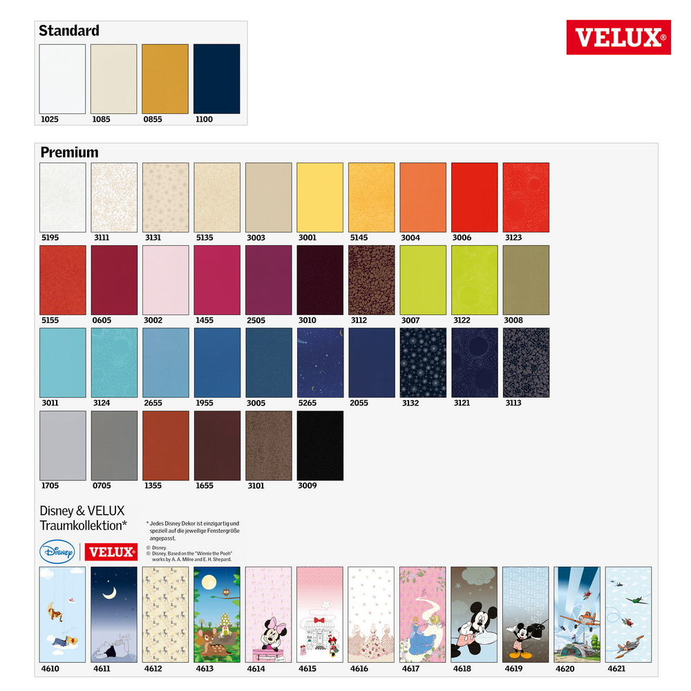original velux verdunkelungs rollo f r vl vf vt dg 085 1025s weiss ebay. Black Bedroom Furniture Sets. Home Design Ideas
