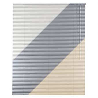Höhe 110 cm beige Aluminium Jalousie Alu Jalousette Rollo Fensterjalousie