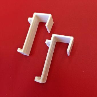Klemmträger feste Breite 16 mm für Klemmfix DUO Rollos Doppelrollo ohne Bohren