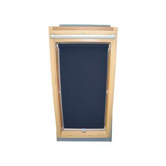Dachfensterrollo Sichtschutz für Velux Dachfenster GGL/GPL/GHL - dunkelblau