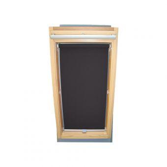 Dachfensterrollo Sichtschutz für Velux Dachfenster GGL/GPL/GHL - dunkelgrau