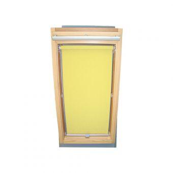 Dachfensterrollo Sichtschutz für Velux Dachfenster GGL/GPL/GHL - gelb