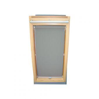 Dachfensterrollo Sichtschutz für Velux Dachfenster GGL/GPL/GHL - grau