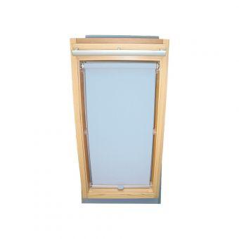 Dachfensterrollo Sichtschutz für Velux Dachfenster GGL/GPL/GHL - hellblau