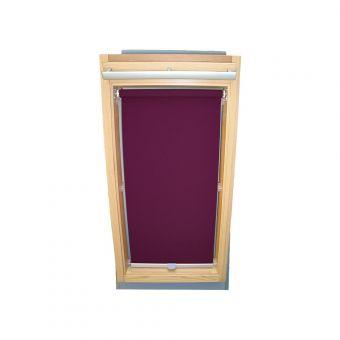 Dachfensterrollo Sichtschutz für Velux Dachfenster GGL/GPL/GHL - lila