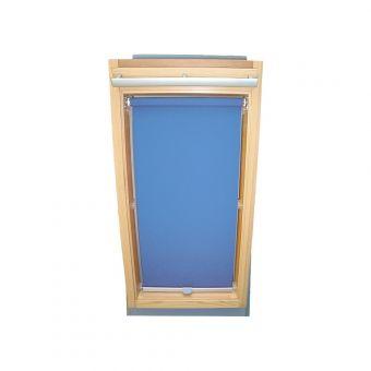 Dachfensterrollo Sichtschutz für Velux Dachfenster GGL/GPL/GHL - mittelblau