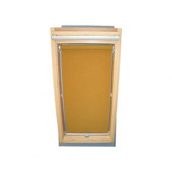 Dachfensterrollo Sichtschutz für Velux Dachfenster GGL/GPL/GHL - ocker