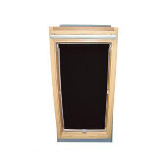 Dachfensterrollo Sichtschutz für Velux Dachfenster GGL/GPL/GHL - schwarz