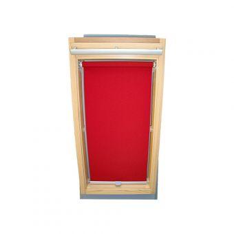 Dachfensterrollo Sichtschutz für Velux Dachfenster GGL/GPL/GHL - weinrot