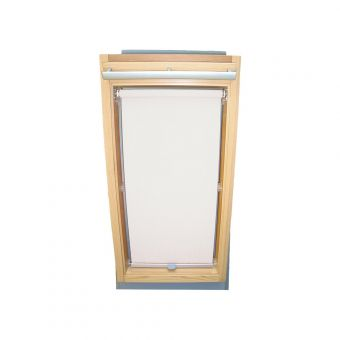 Dachfensterrollo Sichtschutz für Velux Dachfenster GGL/GPL/GHL - weiß