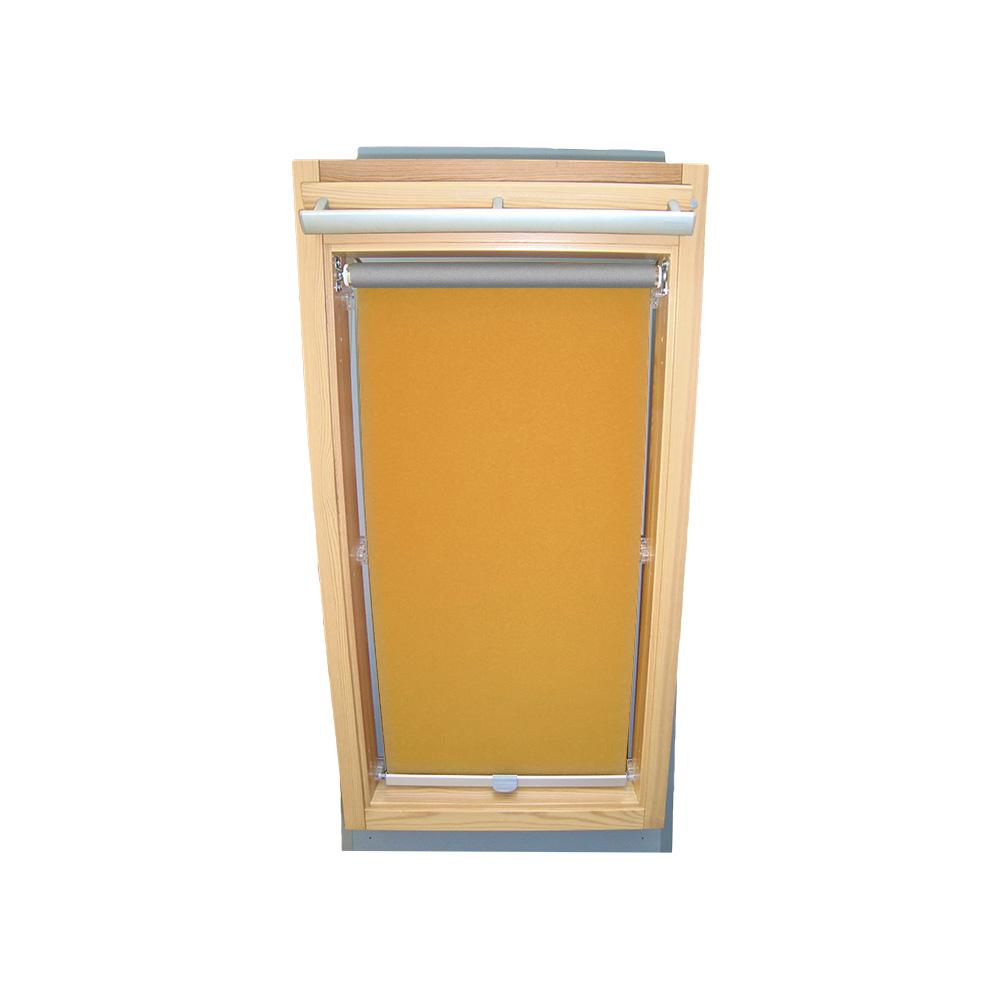 Abdunkelungsrollo Rollo für Velux-Dachfenster GGU//GPU//GHU//GTU in gelb