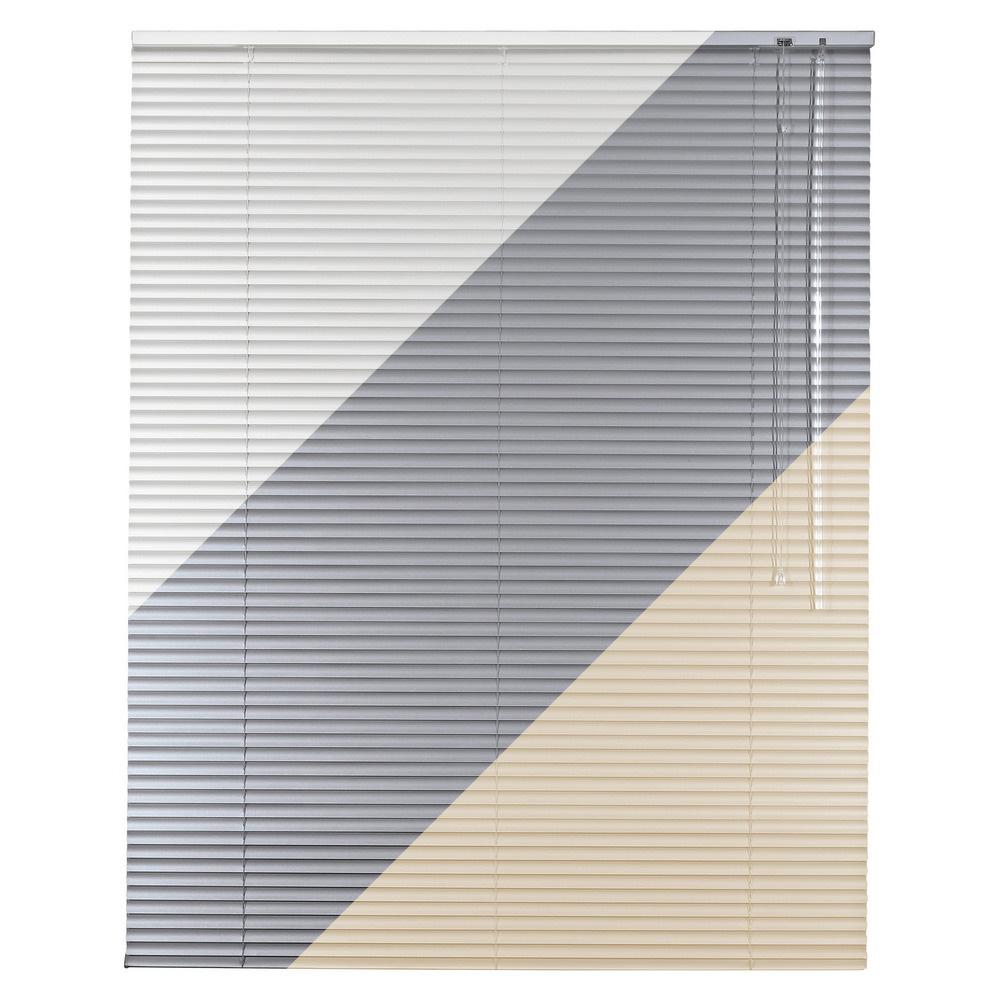 Klemmträger weiß 100 x 130 cm Klemmfix Jalousie Rollo Aluminiumjalousie inkl