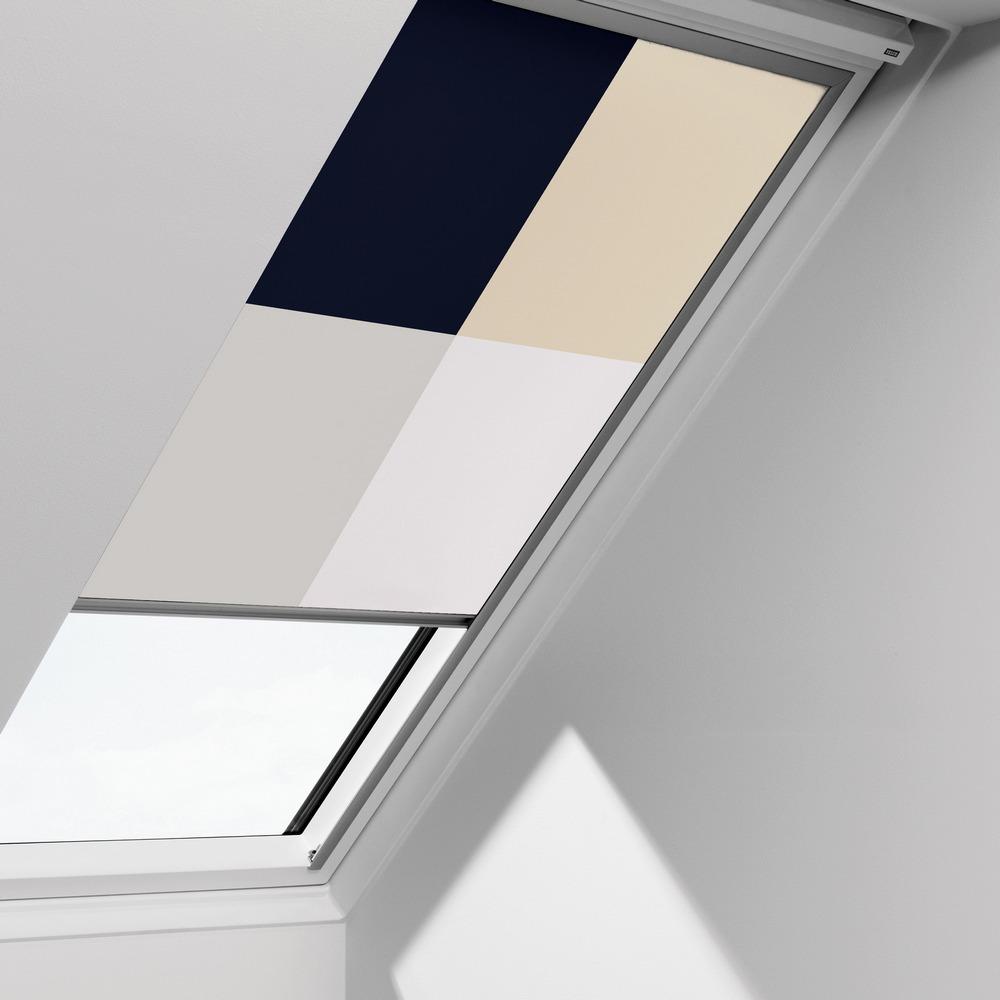 Abdunkelungsrollo Rollo für Velux-Dachfenster GGU//GPU//GHU//GTU in grau