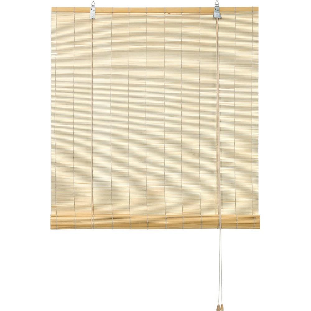 bambusrollo roll up st bchenrollo holzstab rollos natur ebay. Black Bedroom Furniture Sets. Home Design Ideas